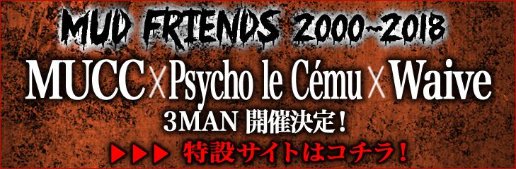MUD FRIENDS 2000-2018 特設サイト